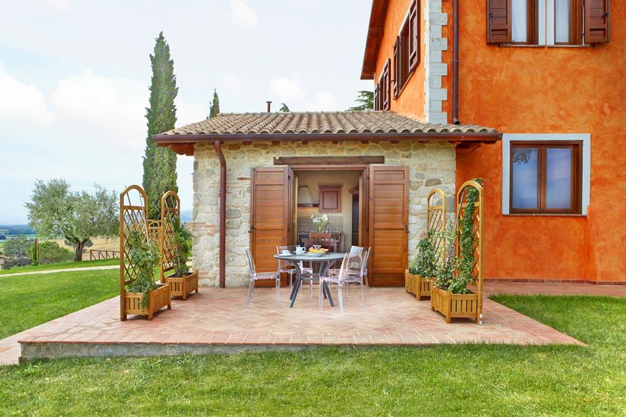 Appartamenti vacanze con piscina in Umbria