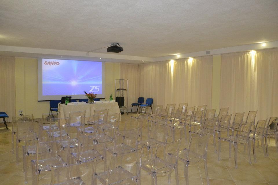 Sala riunioni all'agriturismo
